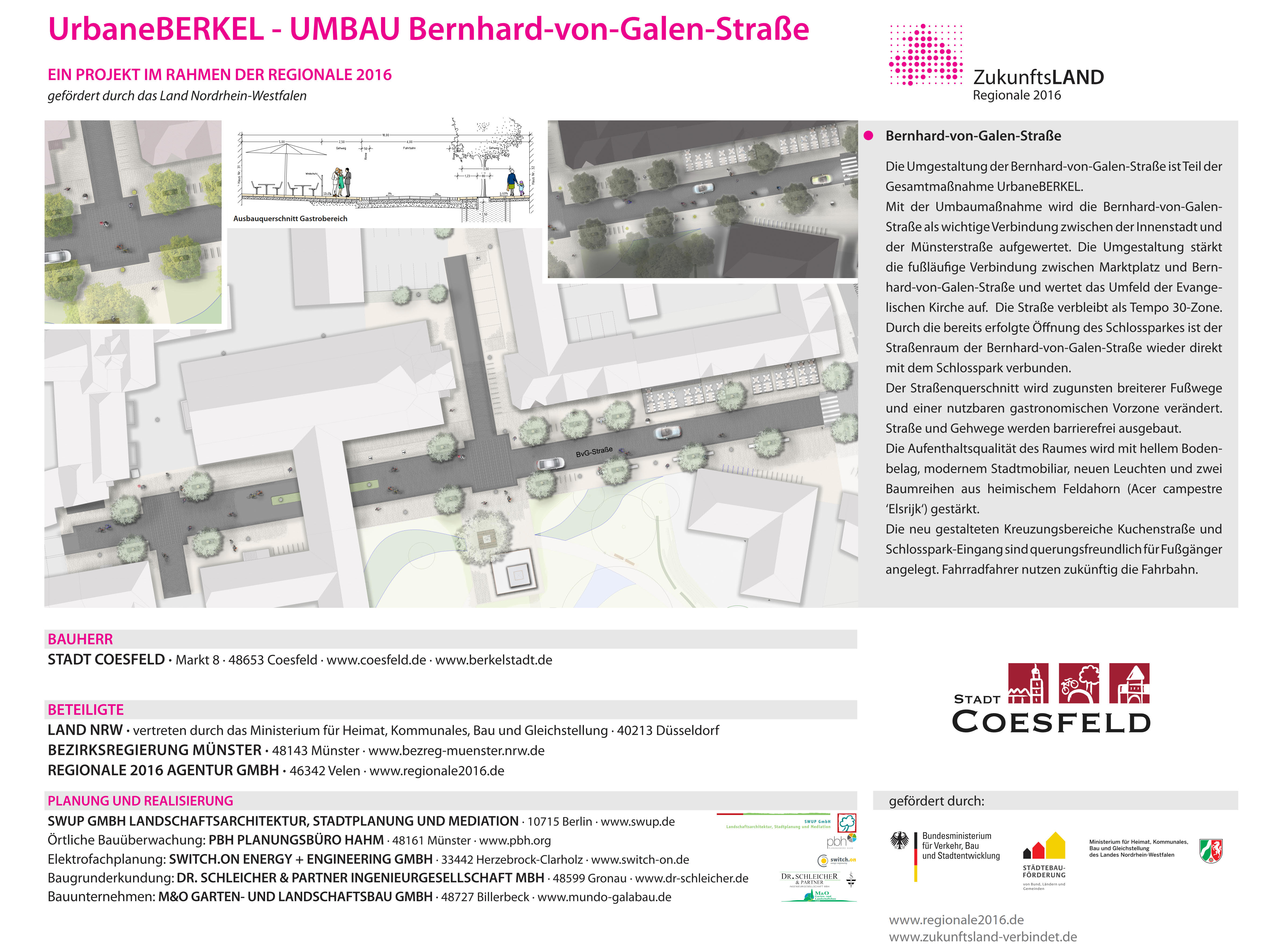 Aktuelles BerkelSTADT Coesfeld - Wirtschaft & Bauen - Stadt Coesfeld