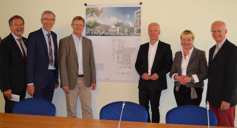 Architekten Coesfeld investorenauswahlverfahren bahnhof coesfeld wirtschaft bauen
